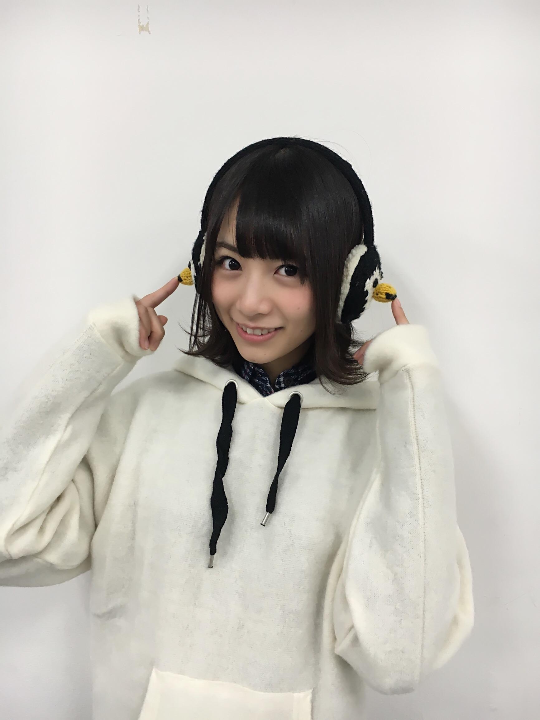 耳あてが可愛い北野日奈子